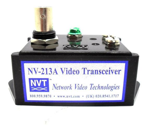 Transmissor E Receptor De Video Canal Unico Nvt Nv-213a Uk