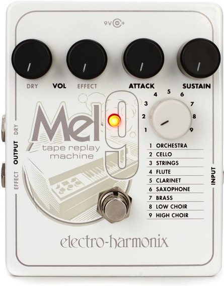 Pedal Ehx Mel9 Tape Replay Machine Electro Harmonix