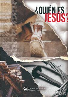 Porción Bíblica ¿quién Es Jesús? Pack X 10 Unidades