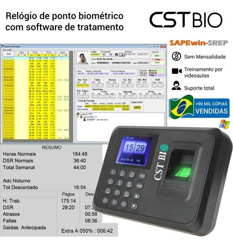 Relógio Ponto Biométrico + Frete Grátis + Programa De Ponto