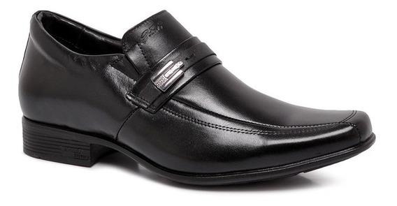 Sapato Social Jota Pe Airbag Couro 71363 Salto Interno 6,5cm