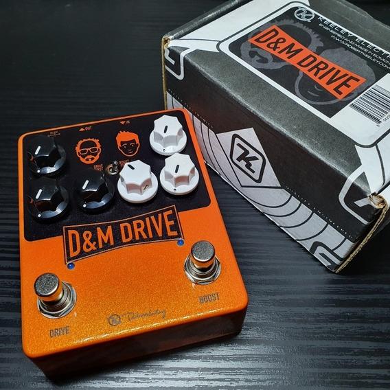 Pedal Keeley D&m Drive Overdrive (ñ Boss, Mxr, Jhs, Xotic)