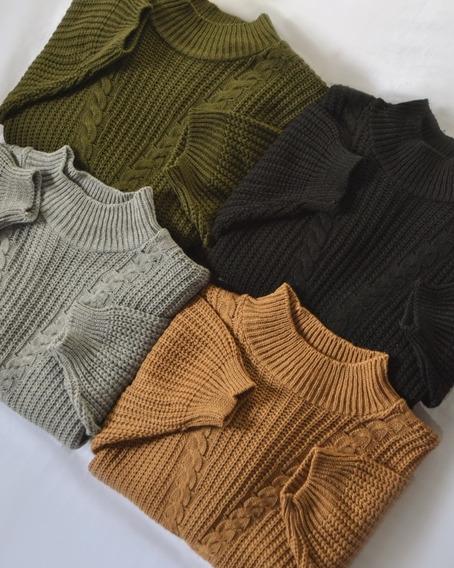 Sweater Mujer Corto