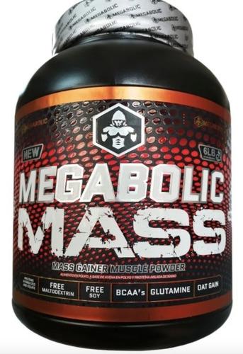 Megabolic Mass 6lb Gainer - Unidad a $89000