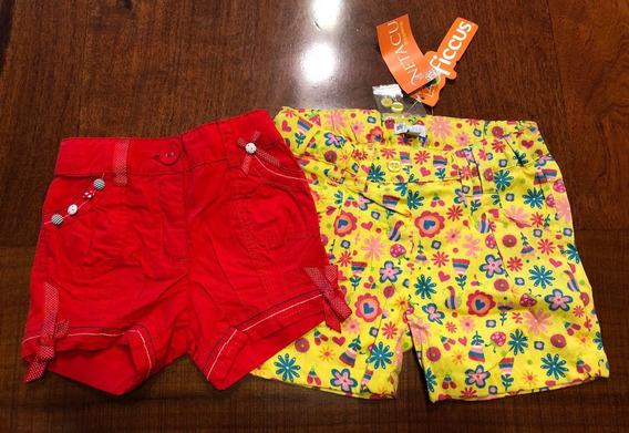 Shorts De Verano Para Niña