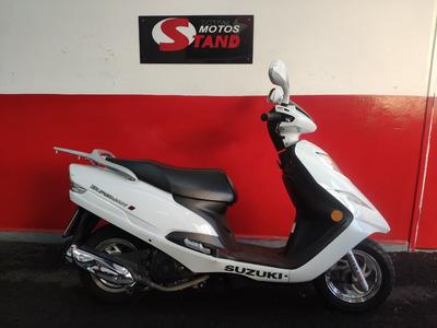 Suzuki Burgman 125i 125 I 2018 Branca Branco