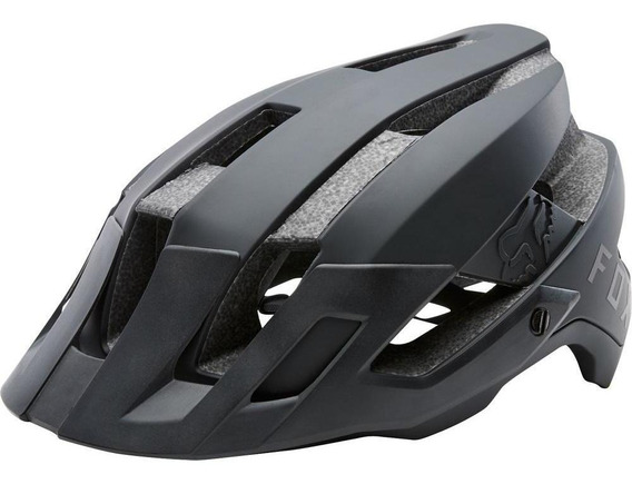Casco Bicicleta Flux Negro Fox