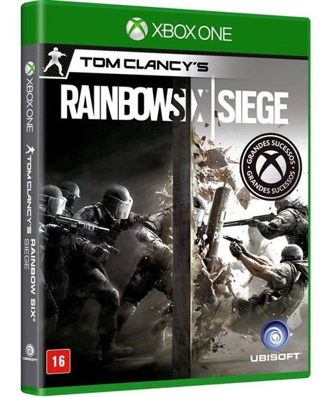Jogo Rainbow Six Siege Xbox One Mídia Física Nacional Barato