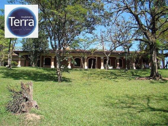 Chácara Residencial À Venda, Recanto Verde, Cotia - Ch0001