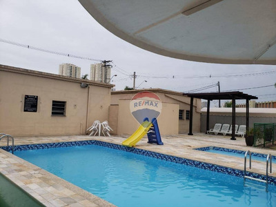 Apartamento Com 3 Dormitórios Para Alugar, 65 M² Por R$ 1.199/mês - Vila Mogilar - Mogi Das Cruzes/sp - Ap0220