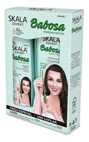 Kit Skala Babosa Shampoo Y Acondicionador