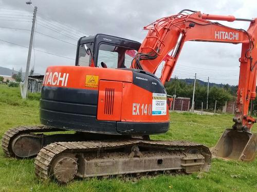 Retroexcavadoras Hitachi Zx135