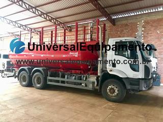 Caminhão Cargo 3129 Ano 2017 - Pipa Gascom Multiflex 20 Mi