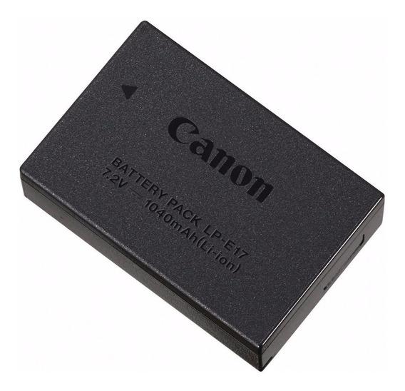 Bateria Canon Lp-e17 P T6i T7i Sl2 Original Nota Garantia Br