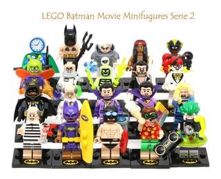 Lego Batman Serie 2 Con 20 Minifiguras