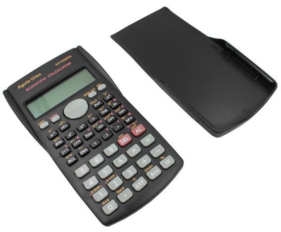 Calculadora Cientifica Digital 240 Funções 12 Digitos + Capa
