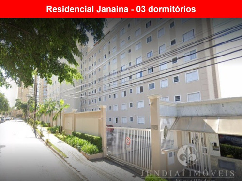 Vendo Apartamento No Residencial Janaina Na Rua Congo Em Jundiaí; 62 M², 03 Dormitórios, Localização Privilegiada. - Ap00304 - 68662511