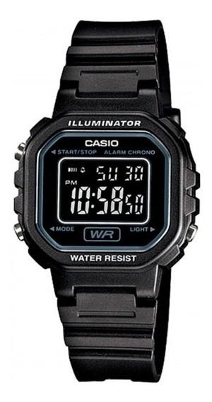 Relógio Casio Feminino La-20wh-1bdf Preto - Refinado