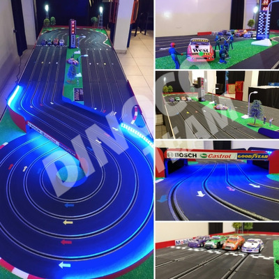 Alquiler Pista De Autos Scalextric Metegol Tejo Jenga Arcade