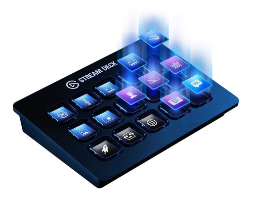 Stream Deck 15 Botones Elgato Lcd Customizable Streaming Usb