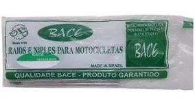 Jogos De Raios Inox 3,5mm Bace Honda Bros 150 Esd Diant/tras