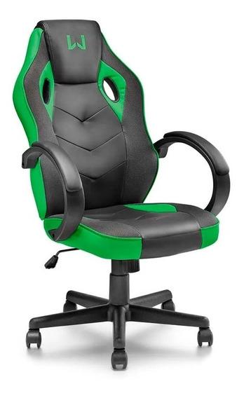 Cadeira Gamer Verde Warrior Ga160 Multialser