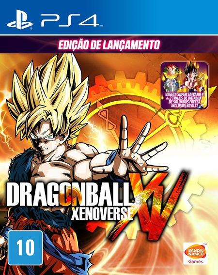 Dragon Ball Xenoverse Ps4 Jogo Usado Mídia Física