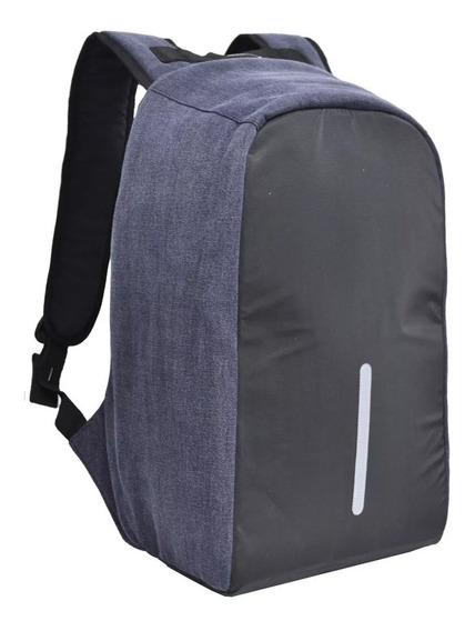 Mochila Antirrobo Porta Notebook Impermeable Con Usb Envios
