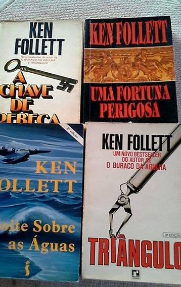* Pacotão 4 Vol. Ken Follett - Literatura Estrangeira