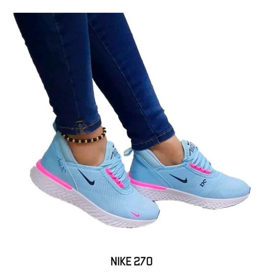 Hermosos Tenis De Mujer 270 Nike Nacionales