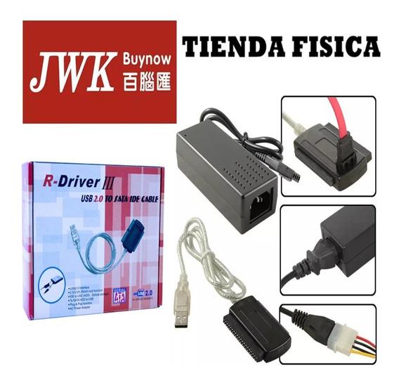 Cable Adaptador Usb 2.0 A Sata Ide R-driver Iii Jwk