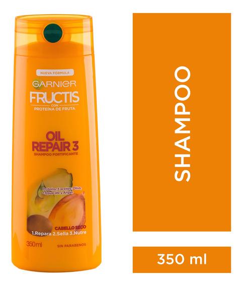 Shampoo X350 Cabellos Secos Oil Repair 3 Fructis Garnier