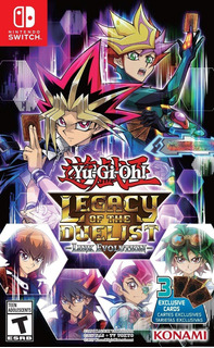 Yu-gi-oh! Legacy Of The Duelist: Link Evolution Juego Fisico