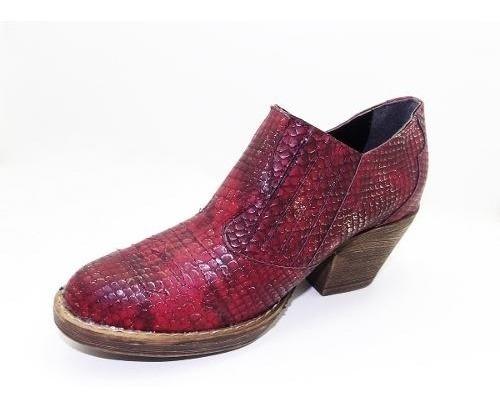 Botineta Texana- Eco Cuero -calzados Union- Art 3700