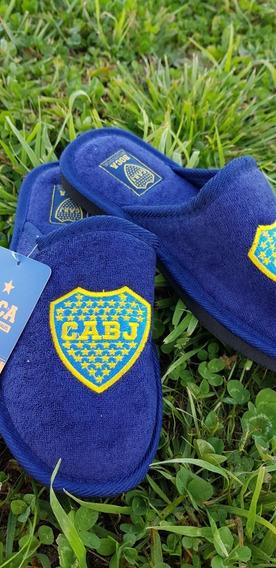 Pantuflas Boca Juniors