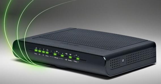 Modem Technicolor Tc7300.b Internet Wi Fi Adsl Cabo