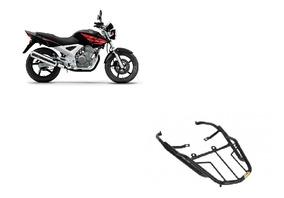 Bagageiro Trefilado Honda Cbx 250 Twister 2002 A 2008 Preto