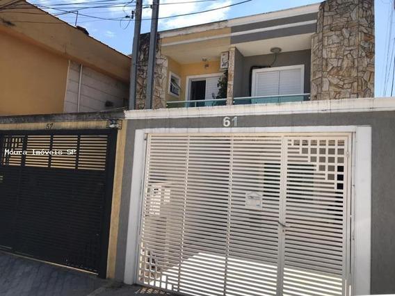 Sobrado Geminado Alto Padrão Para Venda Em São Paulo, Vila Carrão, 3 Dormitórios, 1 Suíte, 2 Banheiros, 2 Vagas - 528740