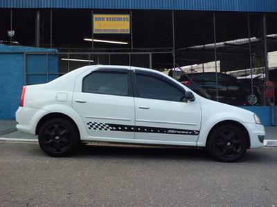 Renault Logan 1.6 Expression Branco 4p 2012 Super Oferta!!!