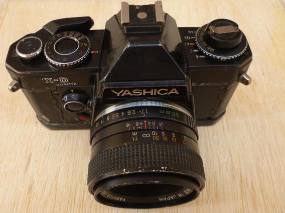 Câmera Yashica Fx-d Com Lente