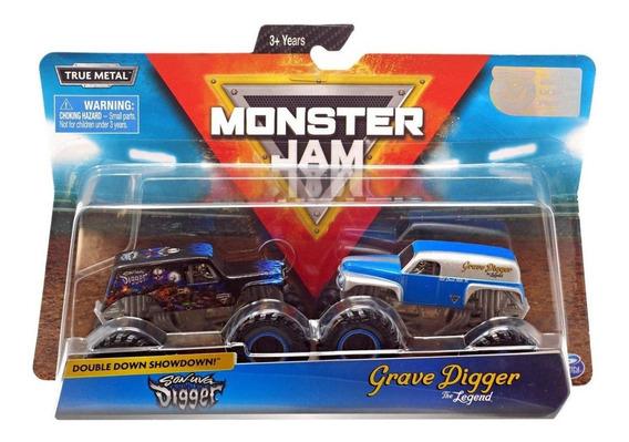 Monster Jam - Son Uva Digger Vs Grave Digger (legend) - Esc