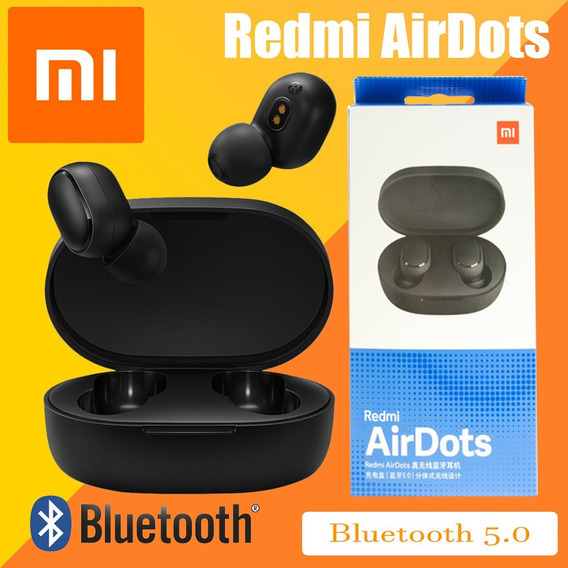 Fone Ouvido Bluetooth Xiaomi Redmi Air Dots Brinde Cabo Usb