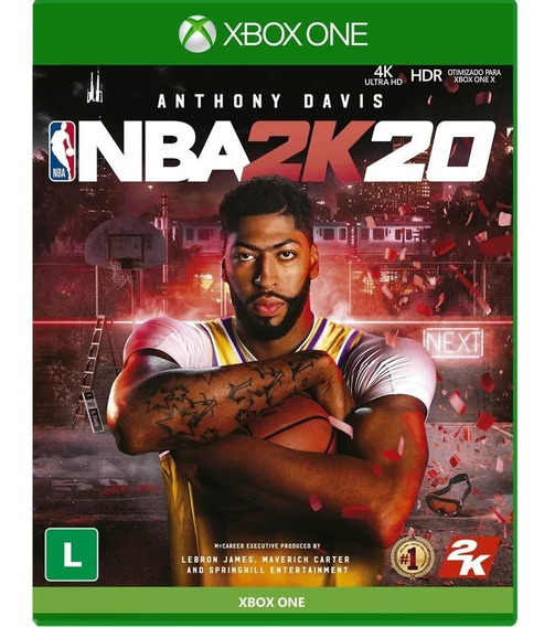 Mídia Digital Nba2k20 Xbox One + Brinde