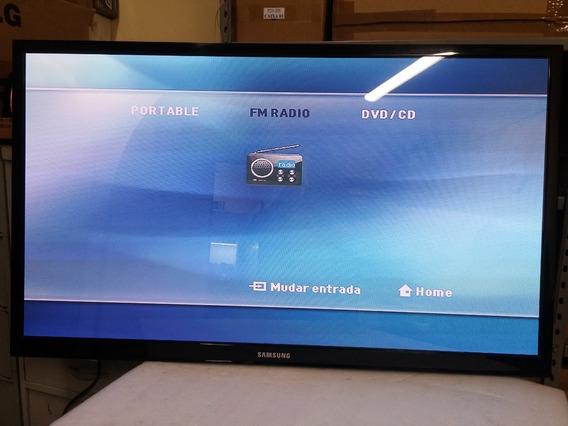 Tv Samsung 51 Polegadas Pl51d450 Sem Base, C/ Controle.