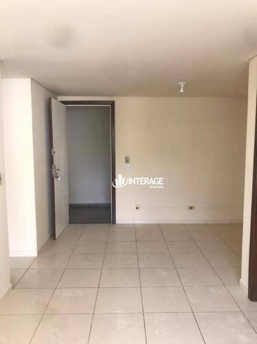 Apartamento Com 1 Dormitório Para Alugar, 60 M² Por R$ 900,00/mês - Batel - Curitiba/pr - Ap0541
