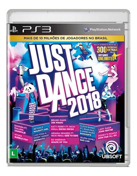 Just Dance 2018 Ps3 Midia Fisica Pronta Entrega