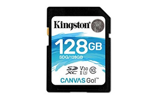 Kingston Canvas Go Tarjeta De Memoria Sdxc Class 10 Sd De 12