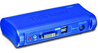Kvm 2 Puertos Trendnet Tk-204u Usb Vga Switch Dvi Hi End