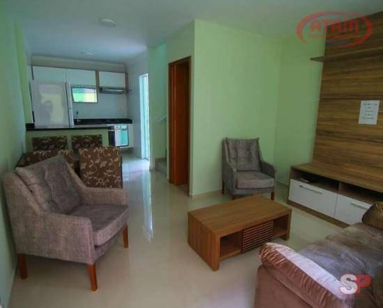 Sobrado Condominio- 2 Suites/2 Vagas Cobertas - So0186