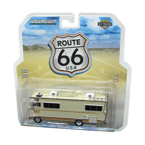 Miniatura Trailer 1973 Route 66 U.s.a 1:64 Greenlight
